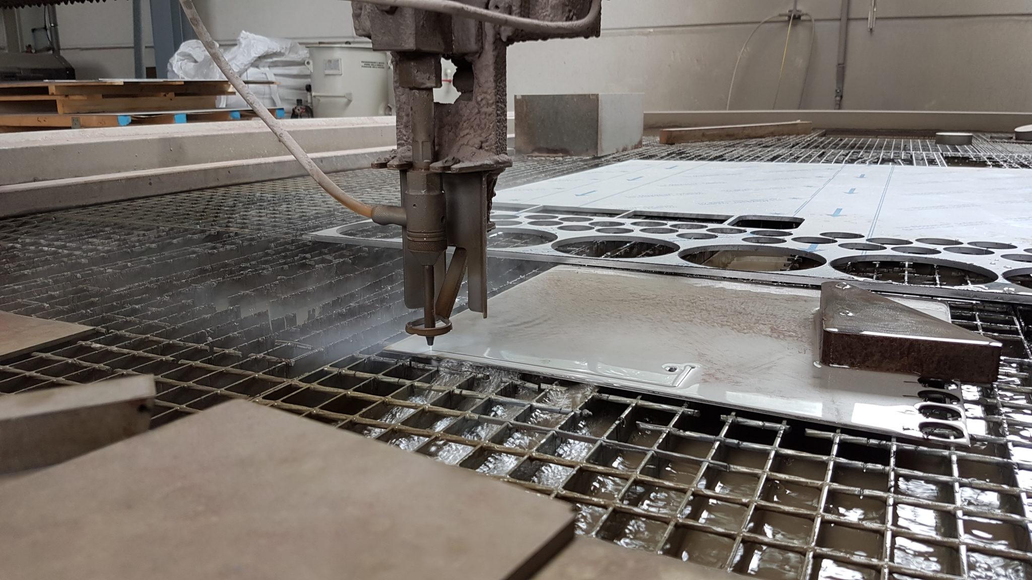 Schneiden von 3 mm - Stahlblechen